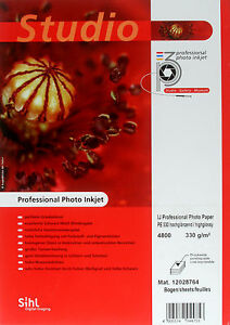 Sihl-P3-Photo-Inkjet-Paper-330gsm-Gloss-13-Inches-x-30m-Roll