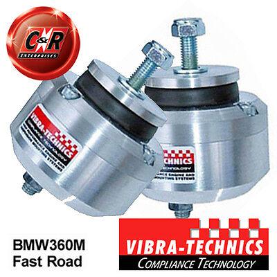 2 x BMW E36 M3 92-00 Vibra Technics Front Engine Mounts - Fast Road BMW360M