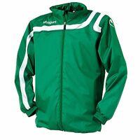 Uhlsport Progressiv Rain Jacket - Green/white - Size: Xs