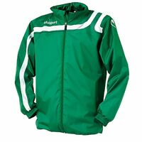 Uhlsport Progressiv Rain Jacket - Green/white - Size: Xs