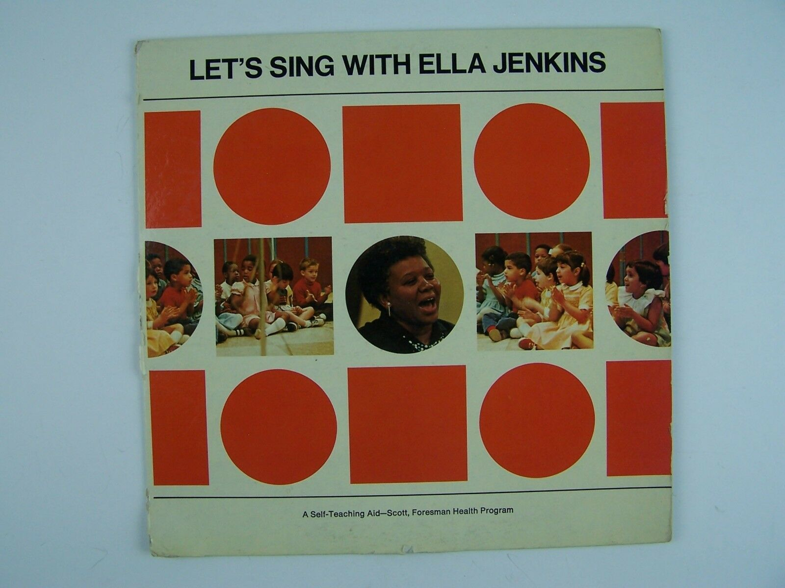 "Ella Jenkins - Let's Sing With 10"" Vinyl Record Album C"