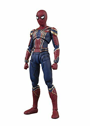 BANDAI S.H.FIGUARTS MARVEL AVENGERS INFINITY WAR IRON SPIDER MAN ACTION FIGURE