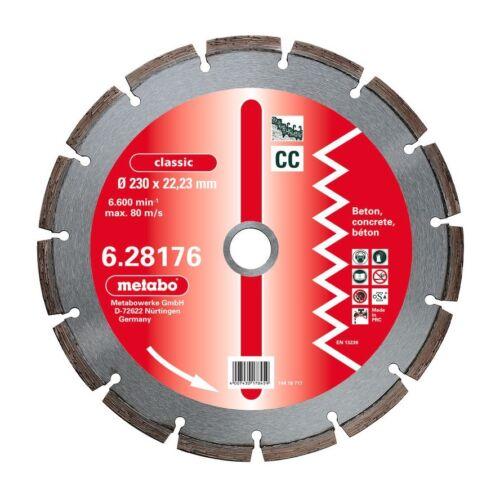 25,4mm classic CC Beton 628180000 Metabo Diamant-Trennscheibe 350 x 3,2 x 20,0