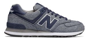 new balance 574 classic azul