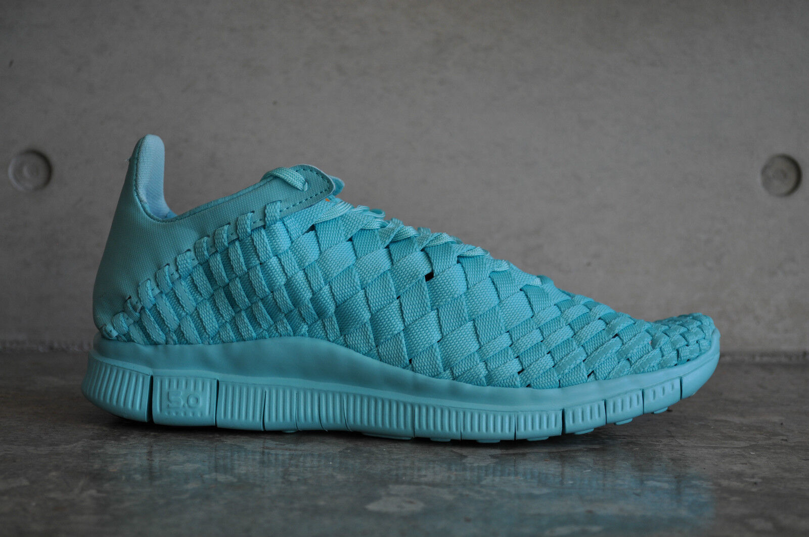 Nike Free Inneva Woven Tech SP - Light Aqua/Light Aqua-Kumquat