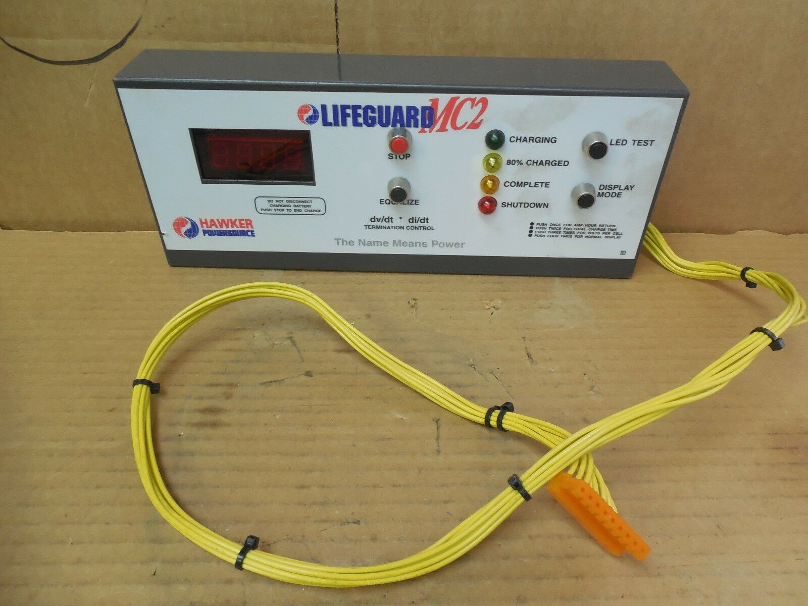 Hawker Powersource LIFEGUARD MC2 Termination Control Controller