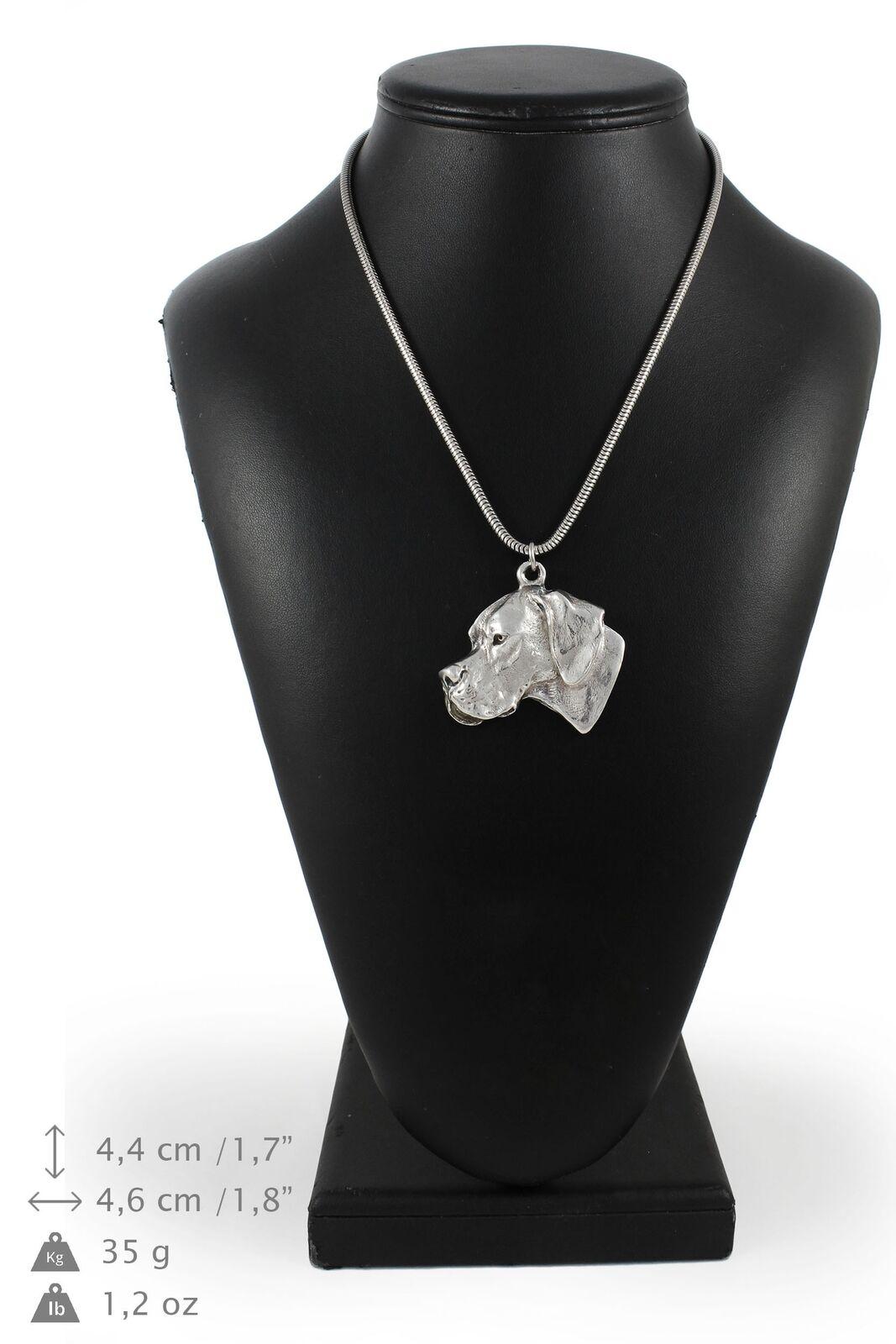 Pointer - collier en Silber plaqué sur une chaîne en Silber Art Dog FR