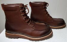 e1124eecffe UGG Leather BOOTS Noxon Grizzly Brown Men's Size 9 for sale online ...