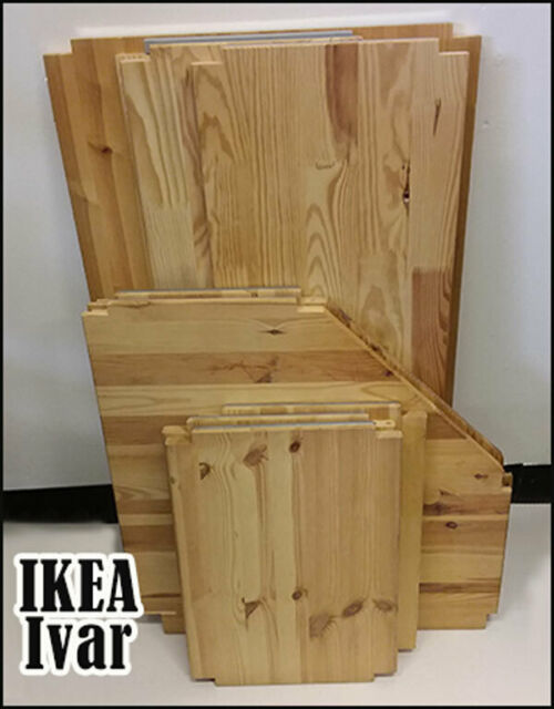 Ikea Ivar Wooden Shelves With Fixing Pinspegs Storage Shelf Retail Shop Display