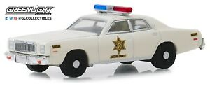 1-64-GreenLight-DUKES-OF-HAZZARD-Roscoe-P-Coltrane-Plymouth-Sheriff-Patrol-Car