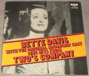 BETTE DAVIS Two's Company SEALED Broadway Cast RCA LOC 1009 Australia Import LP