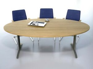 Sven Oval Boardroom Conference Meeting Table X Mm Seat - Oval conference table for 6