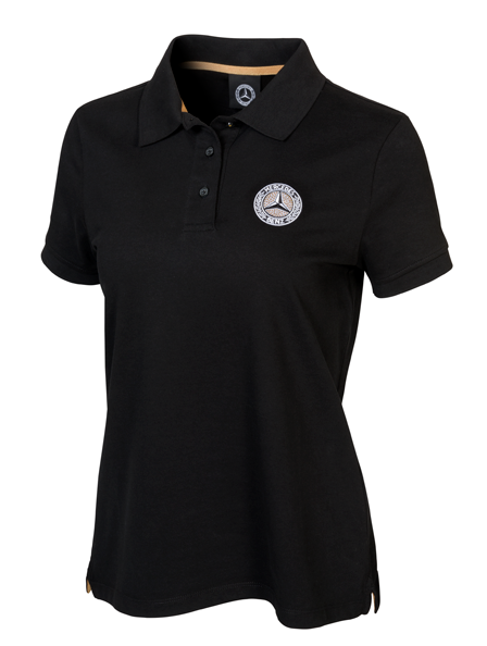 MERCEDES-Benz Classic Polo da Donna by Swarovski ® NERO (XS-XL) b66041510