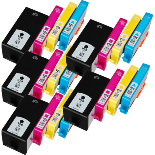 20Pk 920XL Ink for HP 920XL 920 Officejet 6000 6500a 7000 7500a Show ink Level