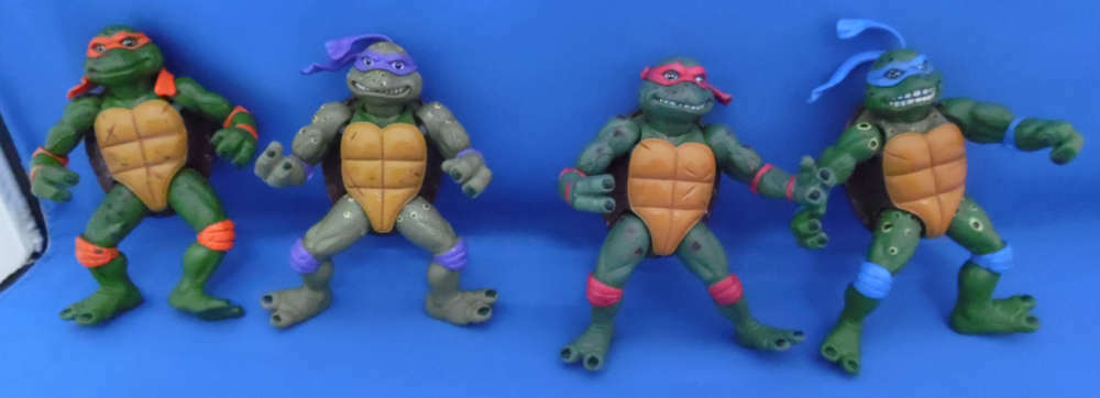 Teenage Mutant Ninja Turtles Estrella De Cine Lote De 4 Teenage Mutant Ninja Turtles