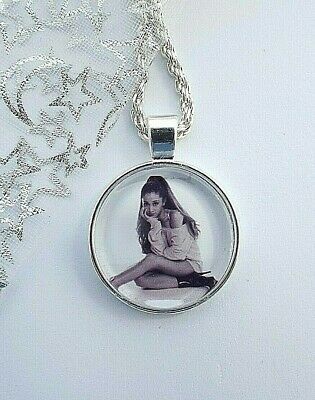 ARIANA  GRANDE  SINGER  DANCE POP MUSIC NECKLACE 18 INCHES GIFT BOXED BIRTHDAY