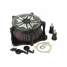 Air Cleaner Intake Filter For Harley Touring Street Glide Road King 2008-17 New