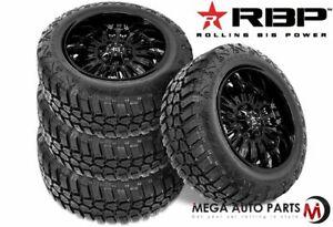 4-RBP-Repulsor-M-T-RX-33x12-50R17LT-114Q-10-Ply-E-Off-Road-Truck-Mud-Tires