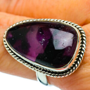 Large-Amethyst-925-Sterling-Silver-Ring-Size-8-25-Ana-Co-Jewelry-R36844F
