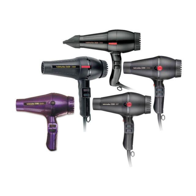 TWINTURBO Hair Dryer 2600 2800 3000 32003200 Ceramic & Ionic TWIN TURBO Italian