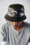 NEW STUSSY BLACK CROC FAUX LEATHER BUCKET HAT LARGE// EXTRA LARGE