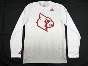 adidas-Louisville-Cardinals-Long-Sleeve-Shirt-Multiple-Sizes-Used