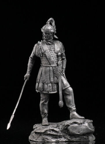 Roman Decurion 3rd Century Tin Toy Soldier 75mmMetal Figuresol-75-130