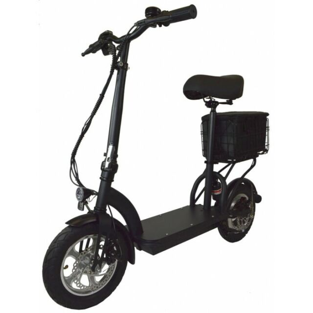 Zipper M6 Electric Scooter with Seat Cargo Bag for sale ...