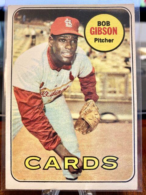 1969 Topps Bob Gibson St. Louis Cardinals #200 Baseball Card VG+