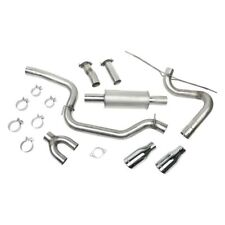 For Ford Focus 12 18 Stainless Steel Cat Back Exhaust System W Dual Rear Exit Fits Focus