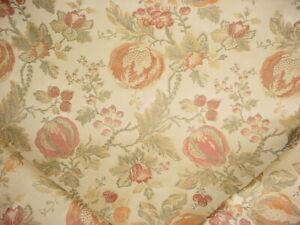1-1-2Y-Lee-Jofa-2006175-Marlowe-Weave-Ginger-Floral-Brocade-Upholstery-Fabric