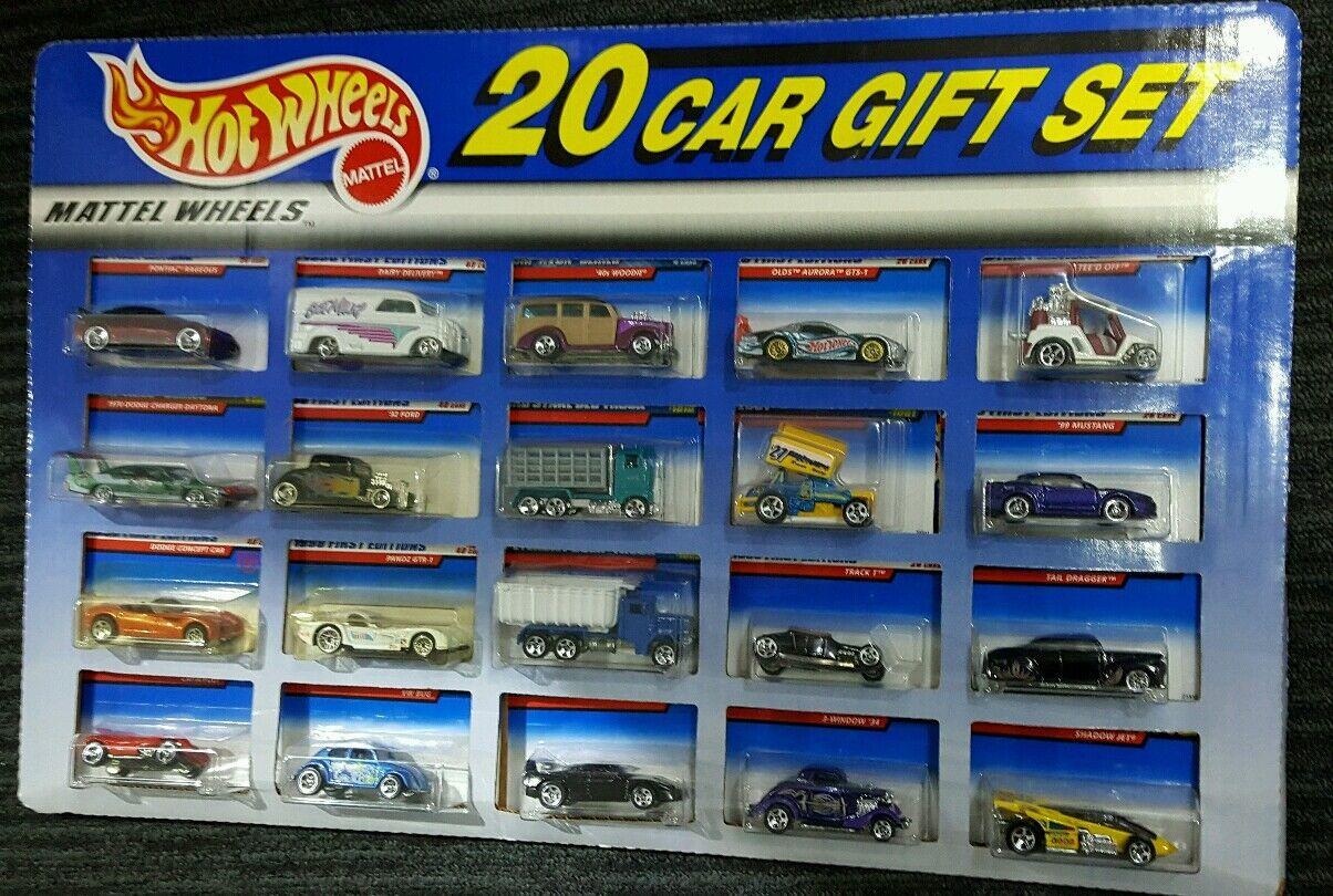 1999 Sams club exclusive hot wheels 20 car gift set RARE VHTF new first editions