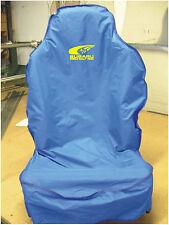 SUBARU WORLD RALLY TEAM SEAT COVER WITH SWOOSH LOGO IN YELLOW WRX WR LTD
