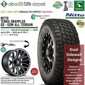Lowest Price Nitto Tires Wheels Nitto Terra Grappler G2 Black Rhino Wheels 265/70R17 265/70R17 265/70R17 265/70R18 Canada Preview