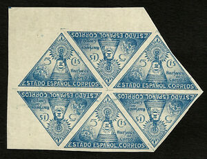 SPAIN-Charity-Edifil-20-s-Bl-of-6-Imperforated-Double-Print-MNH