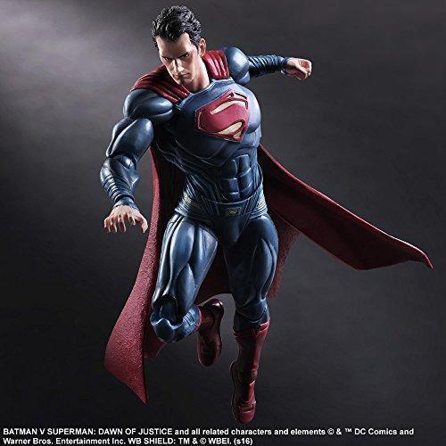 Play Arts Kai Batman Batman Batman vs Superman Dawn of Justice Superman DC Action Figure 8345cc