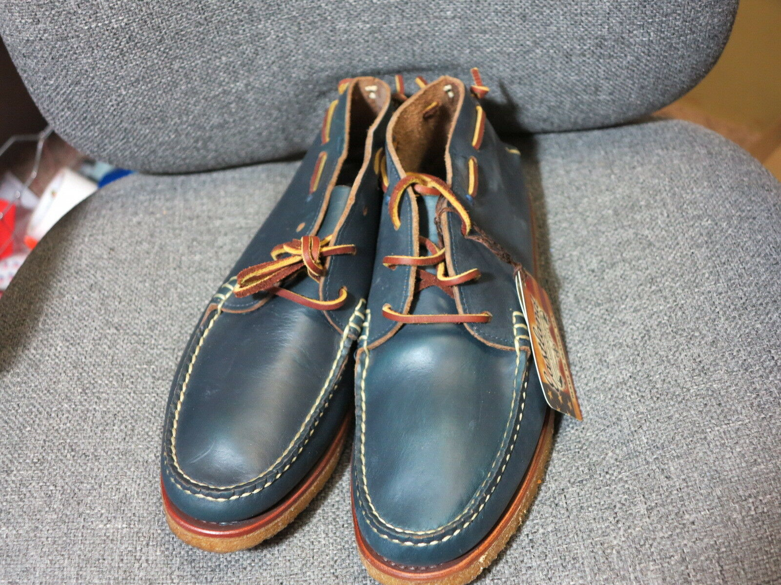 Eastland Millinocket Millinocket Millinocket chukka Stiefel navy 9 10  Freeport Maine made in usa rancourt f4ed6d