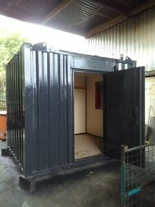 10ft x 8ft Anti Vandal Office Container  Grey  Bargain - Rochdale, United Kingdom - 10ft x 8ft Anti Vandal Office Container  Grey  Bargain - Rochdale, United Kingdom