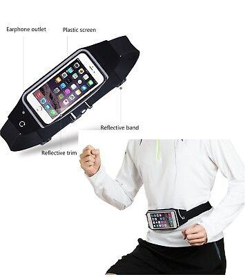 Running waterproof belt Casual waist sports bum bag to hold mobile keys 8 colors