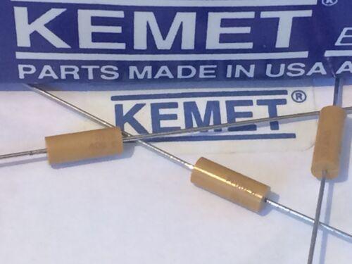 Kemet militar Spec Cap varias capas de cerámica axial 470pF 100V X7R fbb27.6
