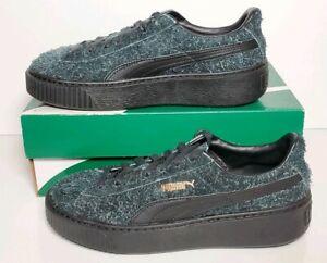 Details about Puma Suede Platform Elemental Shoes Black