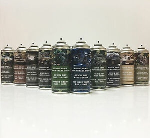 Kings-Army-Spray-Paint-Military-Vehicle-Paint-paintball-airsoft-model-paint