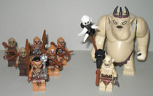 Lego le Hobbit / Seigneur sonne le roi gobelin, Azog et 6 orques avec accessoires