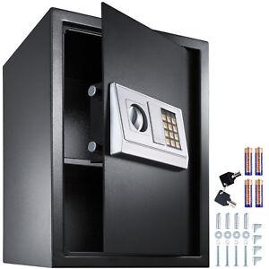 Caja fuerte con cerradura electrónica combinación puerta sólida 50x35x34,5 cm