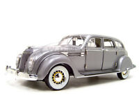 1936 Chrysler Airflow Silver 1:18 Diecast Car Model By Signature Models 18126