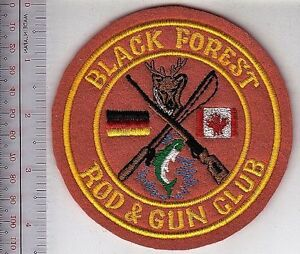 Canada-Royal-Canadian-Air-Force-Germany-RCAF-Station-Baden-Black-Forest-Rod-Gun