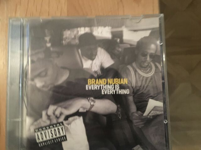 Brand Nubian - Everything Is Everything (Parental Advisory) [PA] (1994)