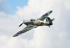 Hawker-Hurricane-POSTCARD-Fighter-Plane-Steve-Greaves-Print-Card-Photo-Aeroplane