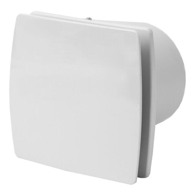 Wand Ventilator Nachlauf Rückstauklappe und Feuchtigkeit Sensor