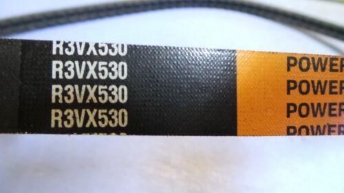 "53"" long NEW 1 TIMKEN Power-Wedge Cog-Band V Belt R3VX530"